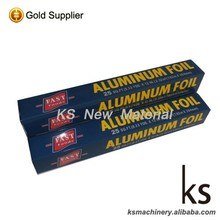 Food Packing Aluminum Foil Household Roll 30cm width with Metal Cutter