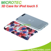 Polymer case for iPod touch 5, Sublimation case for transfer