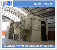 Besttech Q26 sreies peening machine, sand blasting room, sandblasting house