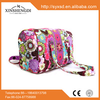 RE030 Classic High Quality cotton quilted ladies fancy bags