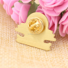 High quality Customized gold epoxy pin badge