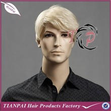 Wholesale High Quality Fine Mono Thin Skin PU Streth Line Free Style Virgin Human Remy Cheap Indian Hair Men's Toupee