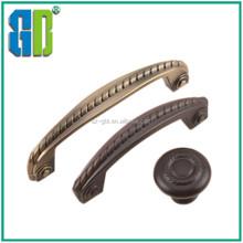 2015 Zinc alloy material door handle manufacture wholesale kitchen HQ cabinet aluminium door knobs