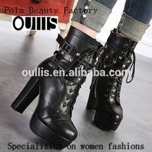 el tobillo botas botas de tacón alto zapatos de invierno ph3095