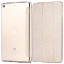 Smart Silk Leather Case for Apple iPad Air