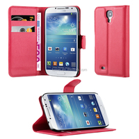 Flip Lichee Pattern Leather Case Cover For Samsung Galaxy S4