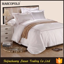 Used hotel bed sheet hand work/Wholesale 100 cotton satin bed sheet fabrics/Egyptian cotton bed linen set wholesale/
