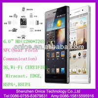 In Stock Support NFC Hifi MTK6589t 2gb RAM32gb ROM 6.0 inch FHD(1920*1080) IPS Screen Real 5+13mp Camera android phone P6+
