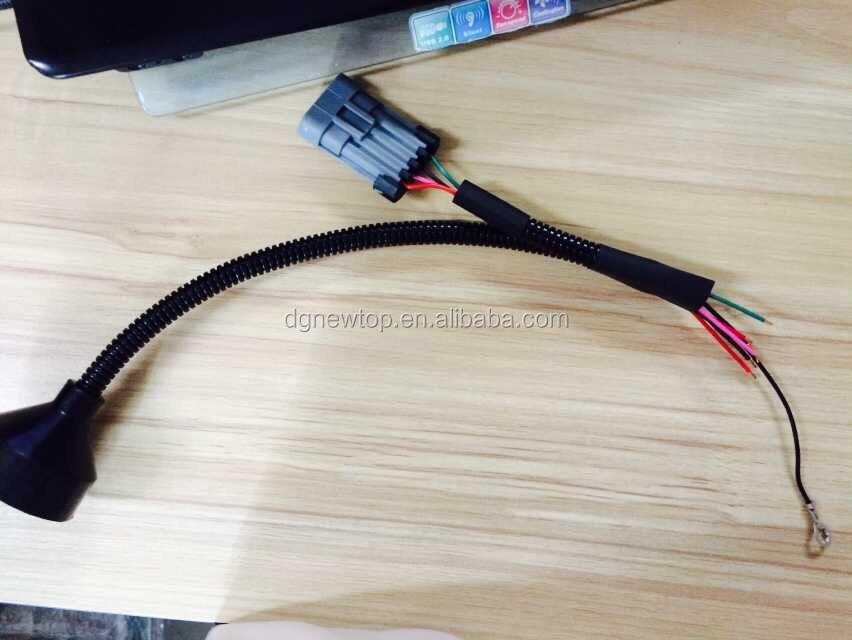 Delphi Wiring Harness Pune : Fuel pump wiring harness with delphi connector for