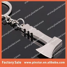 Customized High Quality Metal 3D Axe Tools Keychain