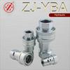 "ZJ-YBA iso 7241-1 series b 3/8"" bsp thread hydraulic quick release coupling"