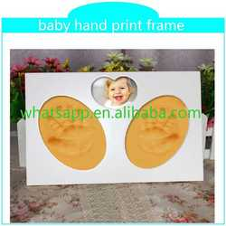 2015 hot baby hand print frame silicone funny dog footprint printed bracelets