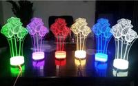 Novel Gift USB Night Lamp LED Night Light 3d Night Light for Christmas
