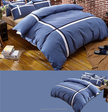 Queen size luxury european design bedding set with duvet cover flat sheet