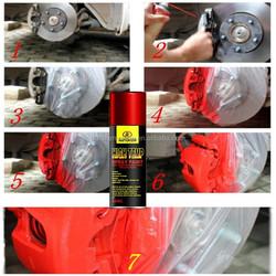 Autokem high temp paint, high temperature paint, heat resistant aerosol spray paint