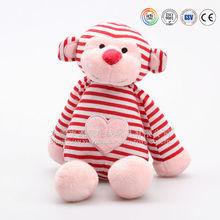 Cute design China plush toys factory and custom plush toy monkey shape with magnet