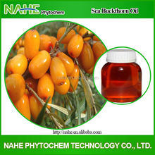 Free sample herbal extract high quality organic sea buckthorn fruits oil