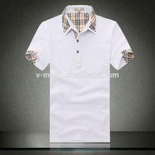 Manga corta camisa de pollo / camisa moda para hombre