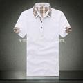 Manga corta camisa de polo / camisa moda para hombre