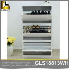 Japanese solid wood wooden furniture shoe cabinet for living room