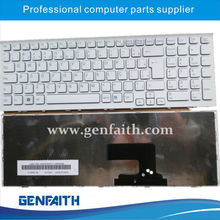 wholesale computer parts laptop keyboard for Sony EE BR layout computer keyboard