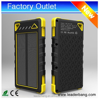 New product Promotional 8000mah solar power bank for smartphone