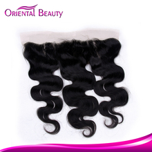 New arrival classic wave can be bleached dark round lace top wave closure