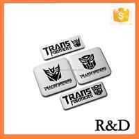 Metal Thin Aluminum Badge Emblem For Autobot Transformers Embleme Emblema Car Sticker Nameplate Decal Logo