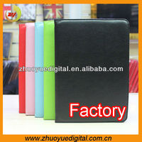 Pu leather samrt stand cover case for samsung p5100/p5110 galaxy tab 2 10.1
