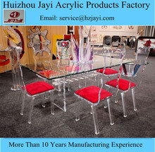 JYT-037China supplier wholesale acrylic long and large dining table/dining table big size