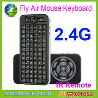 High Quality iPazzPort 2.4GHz Mini Fly Air Mouse Wireless Keyboard with IR Remote