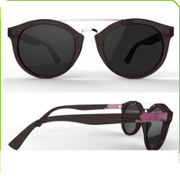 2015 Latest fashion style women sunglasses, italy wood eyeglass designs