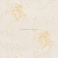 Country Style Non-Woven Flower Wallpaper for Home Decoration
