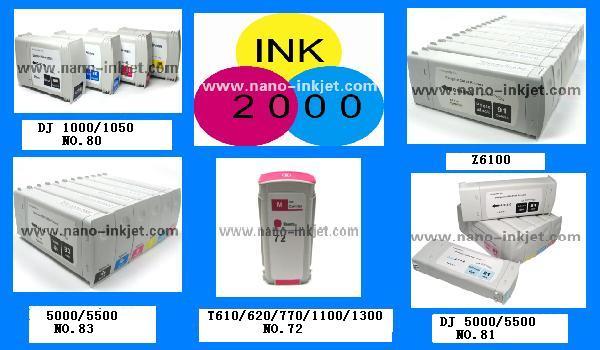 Hộp mực in cho máy in 80 cho máy in designjet 1050 1055 1000 Plotter với Chip bán buôn