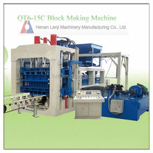 Manufacturer direct selling concrete hollow block making machine for sales