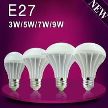 AC90-265V Plastic led bulb 9w house lighting large stock promotion sales