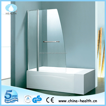 China wholesale corner tub glass shower screen with CE