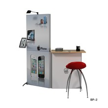 Aluminum-alloy market promotion stand