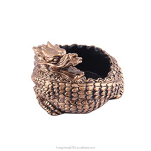 Dragon shape ashtray can be custom logo/Animal shape ashtray