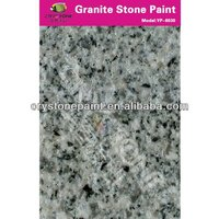 Spray granite stone effect paint for project use exterior wall