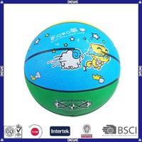 custom cheap best selling rubber basketball