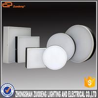 led in dubai back lighting 200mm black and white led fixture surface 20w