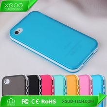 Matt tpu for iphone4 case, 7 colours case for apple iphone