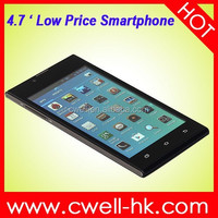 X-BO V3+ Low Price Android Smartphone 4.7 Inch Capacitive Touch Screen WIFI GPS 4.7 inch Screen Cell Phone