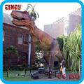 jardín decoración animatronic mecánica maqueta de dinosaurio