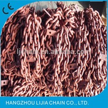 stainless steel welded twisted link chain with high quality made in China manufacturer