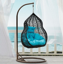 single seat patio swing chair / garden swings / hanging swing chair