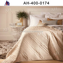 High Quality OEM Wholesale Embroidered Quilted Bedspreads Sheet