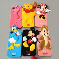 Cartoon Silicone Cell Phone Case /Mobile Phone Cover/Mobile Phone Case