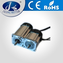 Factory direct 80mm brushless Dc Motor with fan for Automatic V groove cutting machine